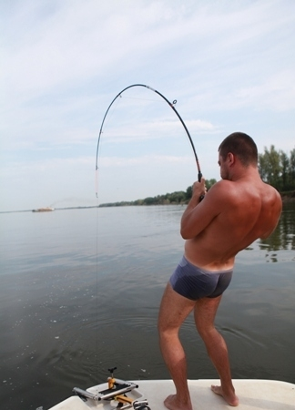 катушка и спиннинг для ловли сома на квок